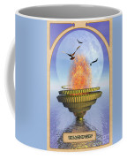 The Ace Of Cups Coffee Mug by John Edwards