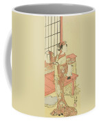 The Actor Segawa Kikunojo II, Possibly As Princess Ayaori In The Play Ima O Sakari Suehiro Genji  Coffee Mug