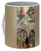 The Adoration Of The Name Of Jesus Coffee Mug