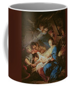 The Adoration Of The Shepherds Coffee Mug by Charle van Loo
