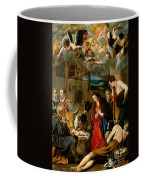 The Adoration Of The Shepherds Coffee Mug by Fray Juan Batista Maino or Mayno