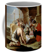The Adoration Of The Shepherds Coffee Mug by Louis Le Nain