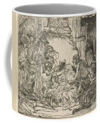 The Adoration Of The Shepherds: With The Lamp Coffee Mug
