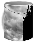 The Adventure Begins  Hot Air Balloon Coffee Mug by Bob Orsillo