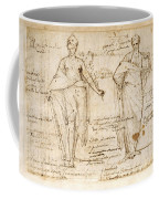 The Allegorical Figures Of Reason And Wisdom  Coffee Mug