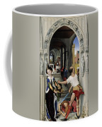 The Altar Of St. John, Right Panel Coffee Mug