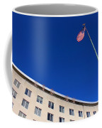 The American Flag At The United States Department Of State Coffee Mug