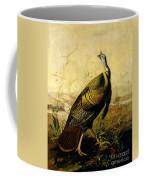The American Wild Turkey Cock Coffee Mug by John James Audubon