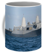 The Amphibious Transport Dock Ship Uss Coffee Mug