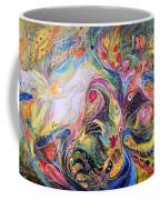 The Angel Of Flowers Coffee Mug