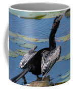 The Bird, Anhinga Coffee Mug by Cindy Lark Hartman