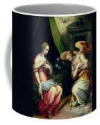 The Annunciation Coffee Mug by Giorgio Vasari