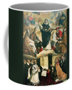 The Apotheosis Of Saint Thomas Aquinas Coffee Mug by Francisco de Zurbaran