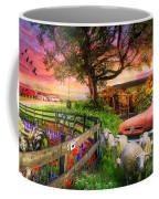 The Appalachian Farm Life In Beautiful Morning Light Coffee Mug