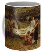 The Apple Gatherers Coffee Mug by Frederick Morgan