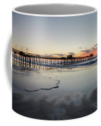 The Approaching Dawn - 32nd Street Pier Avalon Nj Coffee Mug