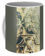 The Aquatic Abstraction Coffee Mug