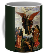 The Archangels Triumphing Over Lucifer Coffee Mug