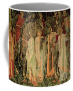 The Arming And Departure Of The Kniights 1894 Coffee Mug