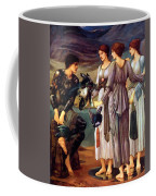 The Arming Of Perseus 1885 Coffee Mug