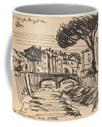 The Arno In The Evening, Florence Coffee Mug
