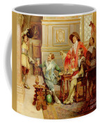 The Arrival Of D'artagnan Coffee Mug