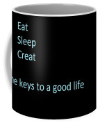 The Art Lovers Key To Life Coffee Mug