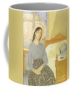 The Artist In Her Room In Paris Coffee Mug