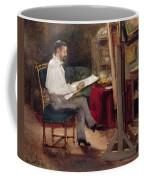 The Artist Morot In His Studio Coffee Mug