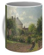 The Artist's Garden At Eragny Coffee Mug