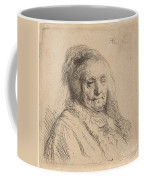 The Artist's Mother, Head And Bust Coffee Mug