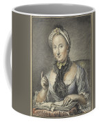 The Artist's Wife With A Book Coffee Mug
