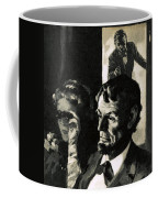 The Assassination Of Abraham Lincoln Coffee Mug by English School