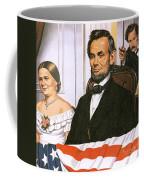 The Assassination Of Abraham Lincoln Coffee Mug by John Keay