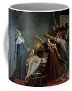 The Assassination Of Marat Coffee Mug