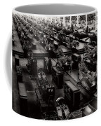 The Assembly Plant Of The Bell Aircraft Corporation In 1944 Coffee Mug