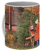 The Autumn Painter Coffee Mug