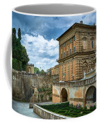 The Back Of The Pitti Palace In Florence Coffee Mug
