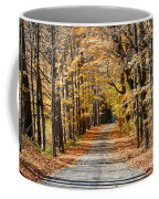 The Back Road In Autumn Coffee Mug