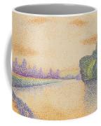 The Banks Of The Marne At Dawn 1888 Coffee Mug
