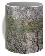 The Banks Of The Seine Coffee Mug by Claude Monet