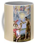 The Baptism Of Christ Coffee Mug by Ottavio Vannini