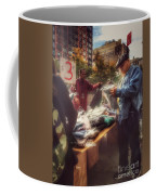 The Bargaining Table - Street Vendors Of New York Coffee Mug