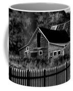 The Barn Bw  Coffee Mug