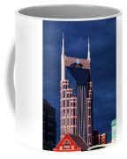 The Batman Building - Nashville Coffee Mug