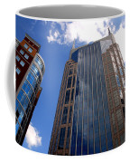The Batman Building Nashville Tn Coffee Mug