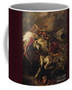 The Battle Of Giaour And Hassan Coffee Mug