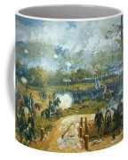 The Battle Of Kenesaw Mountain Coffee Mug by American School