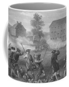 The Battle Of Lexington Coffee Mug