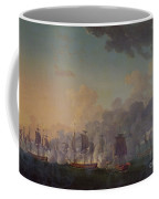The Battle Of Louisbourg On The 21st July 1781 Coffee Mug